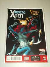 X-MEN AMAZING #6 MARVEL COMICS JUNE 2014 NM (9.4)