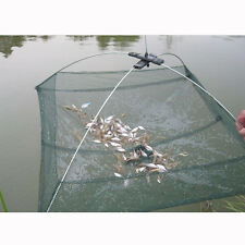 Folded Fishing Net Small Fish Shrimp Minnow Crab Baits Cast Mesh Trap Useful