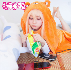 Himouto Umaru-chan Cloak Cosplay Umaru chan Home Wear Soft Flannel Robe Blanket
