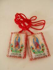 Escapulario Virgen de Guadalupe/ Scapular Our Lady Of Guadalupe set of 12