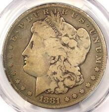 1881-CC Morgan Silver Dollar $1 - Certified PCGS VG8 - Rare Carson City Coin!