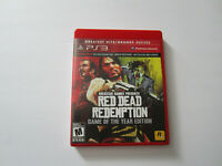 Red Dead Redemption Game of the Year Edition Greatest Hits PS3 COMPLETE VG