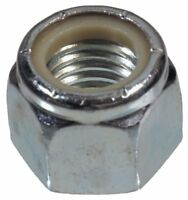 The Hillman Group 180147 Nylon Insert Lock Nut, 1/4-Inch by 20-Inch, 100-Pack