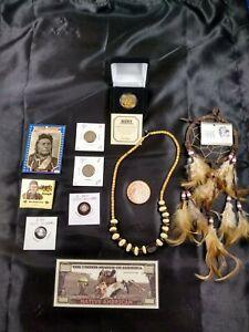 Junk drawer lot Copper Silver American Indian Sacagawea $1 Lot CJ