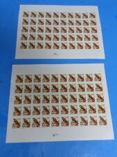 2 SHEETS, 1999 USA United States American Kestrel Bird ,1 CENT STAMPS, 100, NEW