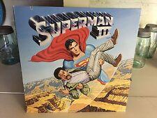Superman III - 1983 Warner Bros Movie Soundtrack Vinyl LP Record Album EX