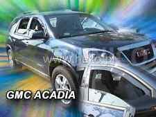 GMC ACADIA 5-portes 2006-présent Deflecteurs de vent 2-pièces HEKO Bulles