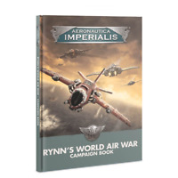 Games Workshop Aeronautica Imperialis Rynns World Air War Campaign Book 40K