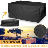 Rectangular Table Furniture Cover Outdoor Dustproof Waterproof Snow Patio  **%