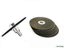 """8-Pack 3"""" Metal Cutting Cut-Off Discs Wheels & Mandrel Cuts Metals Grinds Welds"""