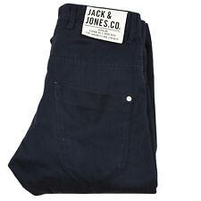 Jack & Jones für Herren Jungen Core Jeans Knopf Fly Anti für Kinder Hose Schwarz