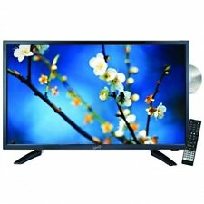 "Supersonic 22"" Ac/Dc Led Hd Tv With Dvd Player & Dc Car Adapter Usb Sd New"