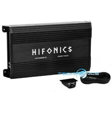 HIFONICS HPX2000.1D CLASS D MONO BLOCK 2000W 1 OHM AMP CAR SUB WOOFER AMPLIFIER