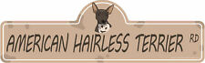 American Hairless Terrier Dog Decal | Dog Lover D�cor Vinyl Sticker