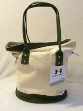 UNDER ARMOUR WOMENS UA GOTTA HAVE IT TOTE /GYM BAG / HAND BAG,GREEN /NATURAL NWT