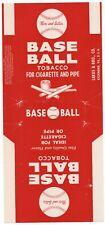 Vintage Baseball Brand Cigarette & Pipe Tobacco Advertising Package