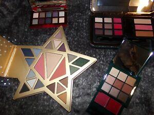 Lot de 4 palettes palettes de maquillage Estée LAUDER et MARIONNAUD