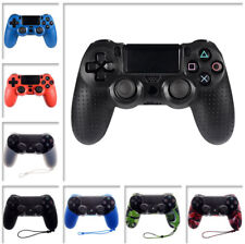 Spot Pattern Silicone Skin Grip Case Cover for Dualshock 4 PS4 Controller Colors