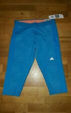 adidas Calf Length Polyester Activewear Wicking for Women