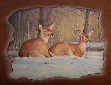 Künstlerische Malerei von Hirschen