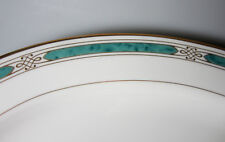 Gorham Regalia Court Teal MEDIUM PLATTER 14 1/2""