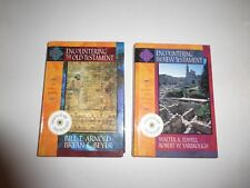 2 Lot Encountering The New & Old Testament EBS Historical & Theological No CD MS