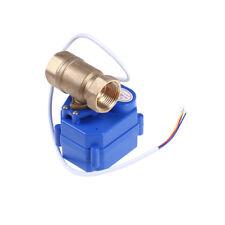 """Valvola a sfera motorizzata ottone g3 / 4 """"dn20 dc12v 2 vie cr02 valvola elett C"""