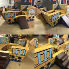 New Pirate Ship Soft Play  7ft x 5ft x5 approx vel-cro together inc Slide  plank