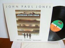 John Paul Jones - Scream For Help  780 190-1 EU LP 1985 Jimmy Page Led Zeppelin