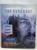 The Revenant Blu-ray Disc (2016) with Slipcover & Includes Digital Copy New Seal