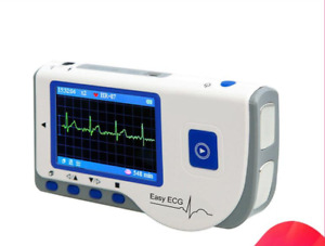 Handheld ECG Monitor Portable EKG Monitor Color LCD Patient Monitor PC-80B