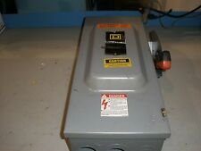 Square D Heavy Duty Safety Switch 100 Amp/240 Vac
