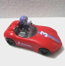 "Snoopy platic race car #3 Ufs Galarie candy despenser 5.75"" wka"
