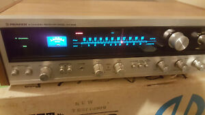 PIONEER QX-646 Quadraphonic Stereo RECEIVER 4 Channel Quad VTG Works Excl 1970's