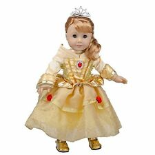 Belle-Inspired Outfit for American Girl Dolls (Includes Ball Gown with jeweled