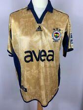 Fenerbahce 2006/2007 Centenary Away Shirt Adidas Gold Football Medium Vintage