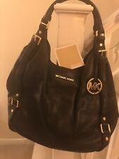 1c2413b0886ed ... store michael kors bedford large leather shoulder tote shoulder bag  black unused 052aa 7eba4 sweden handtasche ...