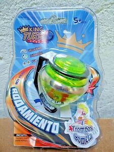 mexican COMETA TROMPO SPIN TOP PEONZA KING TURBO BALL BEARING STEEL TIP MOC ⚡⚡⚡⚡