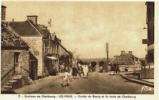 CPA -Carte postale-  FRANCE -CHERBOURG - LES PIEUX - Entrée dans Le Pieux