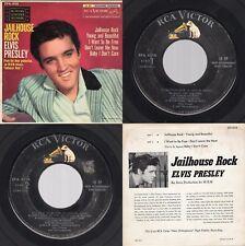 "(1S/1S) Elvis Presley ""Jailhouse Rock"" RCA Victor EPA-4114 1957 Rockabilly"