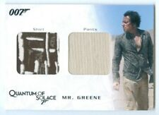 "MATHIEU AMALRIC ""MR GREENE COSTUME/RELIC CARD #QC07"" JAMES BOND ARCHIVES"