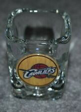 CLEVELAND CAVALIERS NBA BASKETBALL 2oz SPORTS SQUARE SHOT GLASS