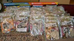Star wars Deagostini build the Millinnum falcon full issue set 1-100 sealed