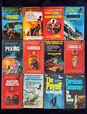 Lot Of 12 Don Smith Books - Secret Mission Angola Peking Munich Corsica Libyan