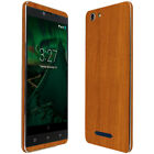 Skinomi Light Wood Skin & Screen Protector for BLU Vivo XL