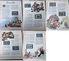 DISNEY PINOCCHIO GRENADA STAMP STORY RARE VINTAGE francobolli