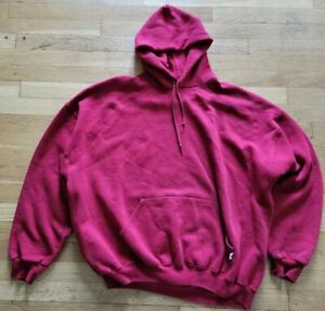 vintage Russell burgandy crewneck sweater sweatshirt hoody hoodie sz 2XL XXL vtg