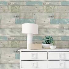 Beachwood Blue White Peel Stick Self Adhesive Wallpaper Pastel Vintage Decor