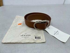 Sezane Artemis Belt Smooth Heritage - Size 90