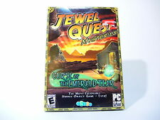 JEWEL QUEST: MYSTERIES CURSE OF THE EMERALD TEAR new factory sealed PC game